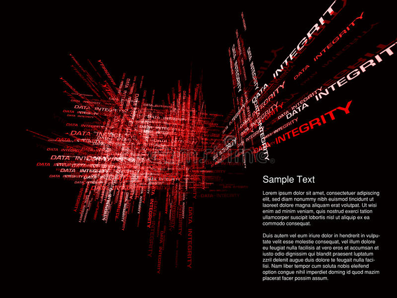 абстрактная герметичность данных стоковые изображения rf