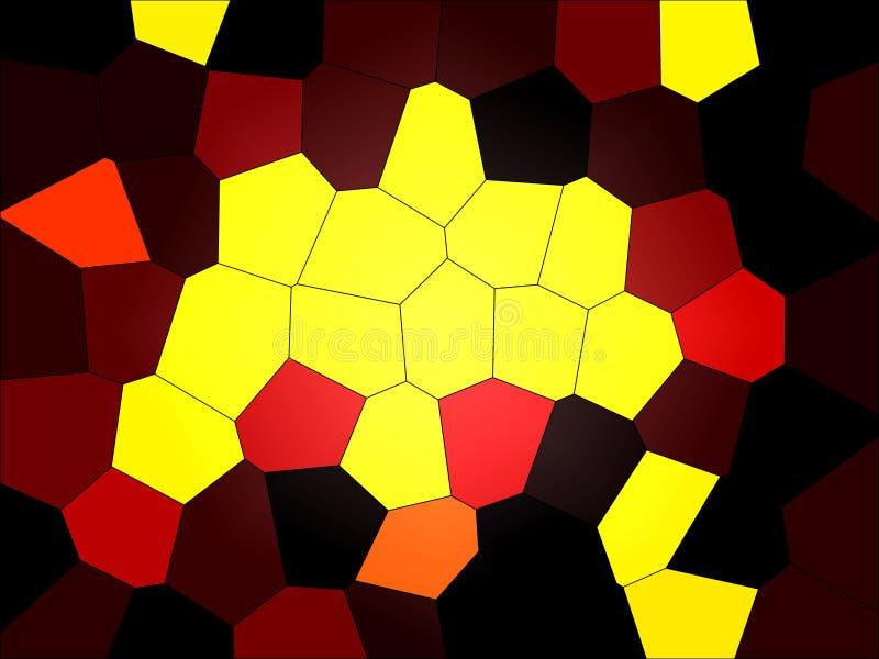 Абстрактная головоломка иллюстрация вектора