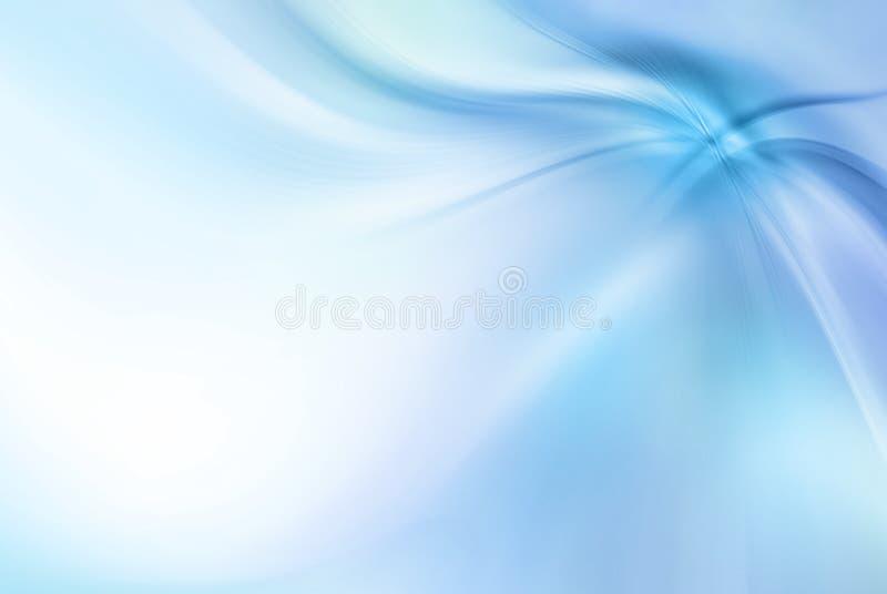 Абстрактная голубая предпосылка линии, волны, ходы, стильная предпосылка стоковое изображение