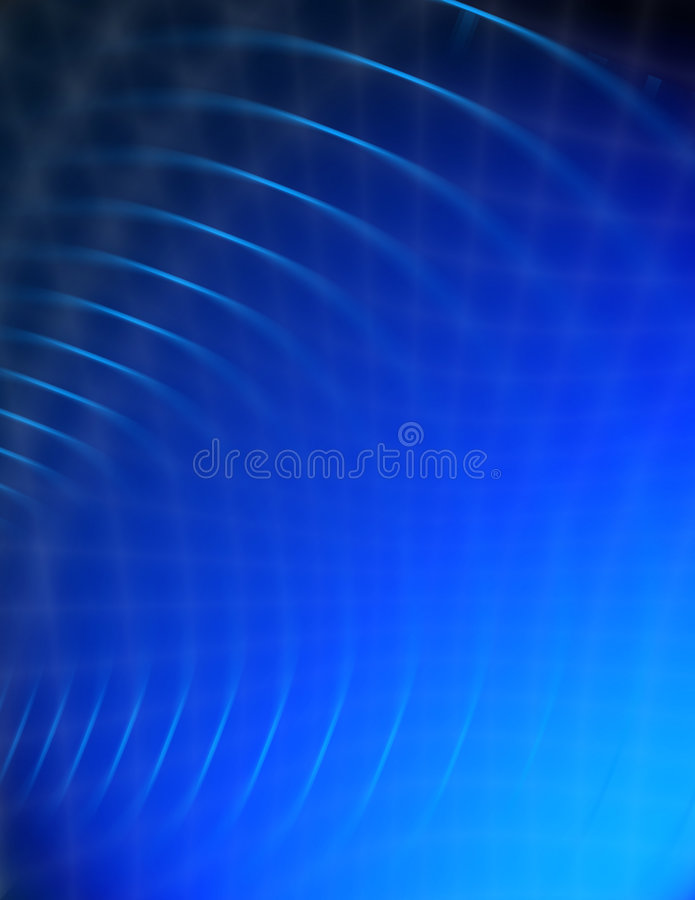абстрактная голубая свирль иллюстрация штока