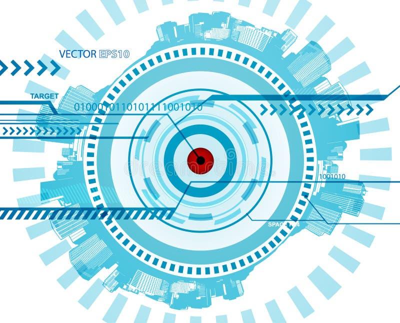 Download абстрактная голубая технология иллюстрации Иллюстрация вектора - иллюстрации насчитывающей холодно, конспектов: 18395870