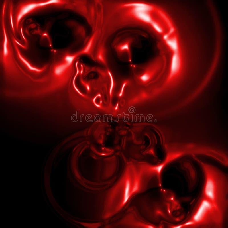 абстрактная горячая лава иллюстрация вектора