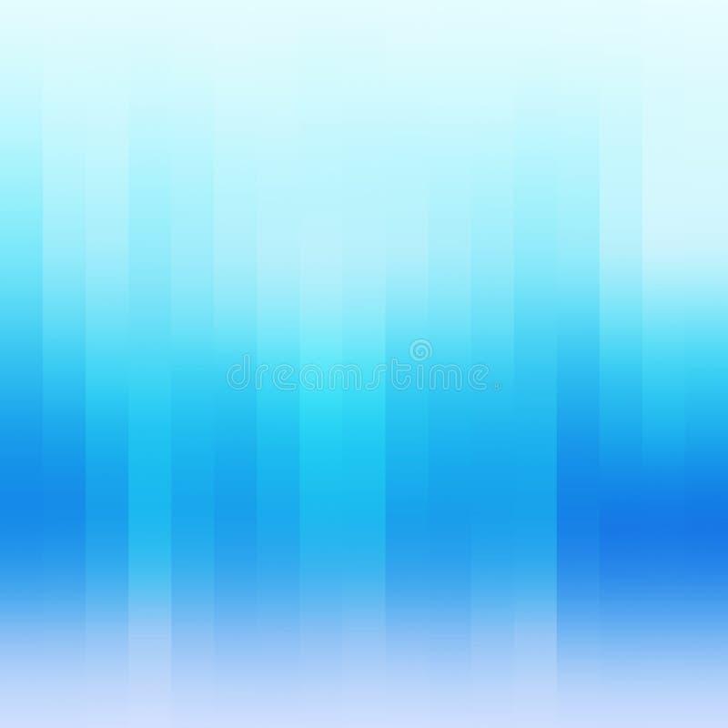 Абстрактная голубая геометрическая обнажанная предпосылка иллюстрация штока