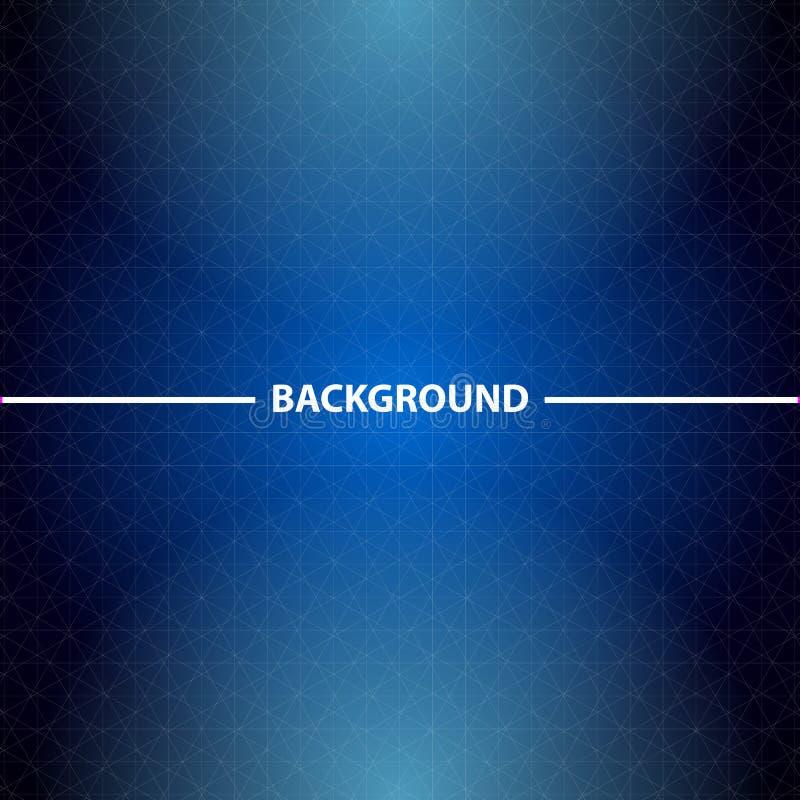 Download Абстрактная голубая предпосылка дела с треугольниками Иллюстрация вектора - иллюстрации насчитывающей глянцевато, карточка: 41654994
