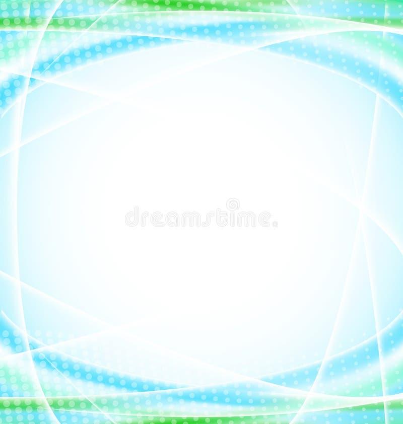 Абстрактная голубая предпосылка для вашего шаблона дизайна иллюстрация штока