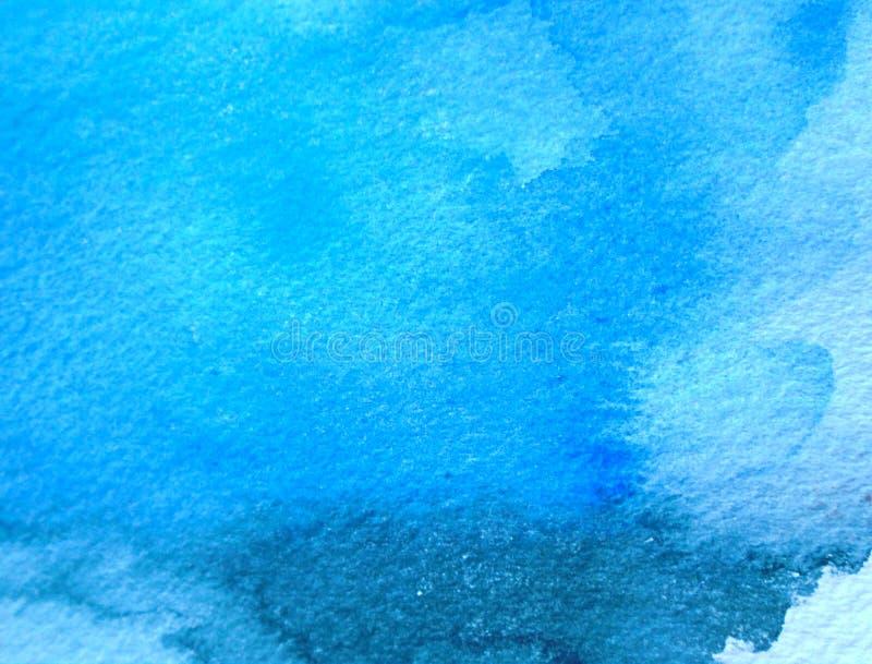 Абстрактная голубая текстура предпосылки grunge стоковое фото