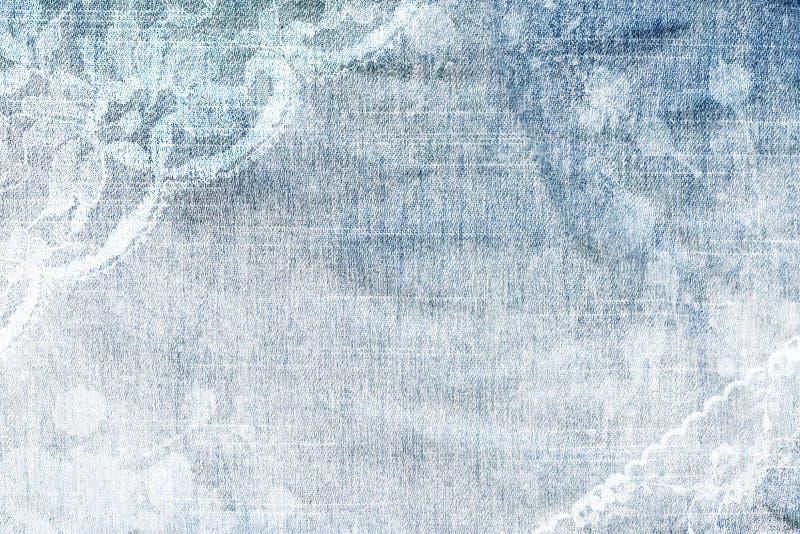 абстрактная джинсовая ткань предпосылки стоковая фотография rf