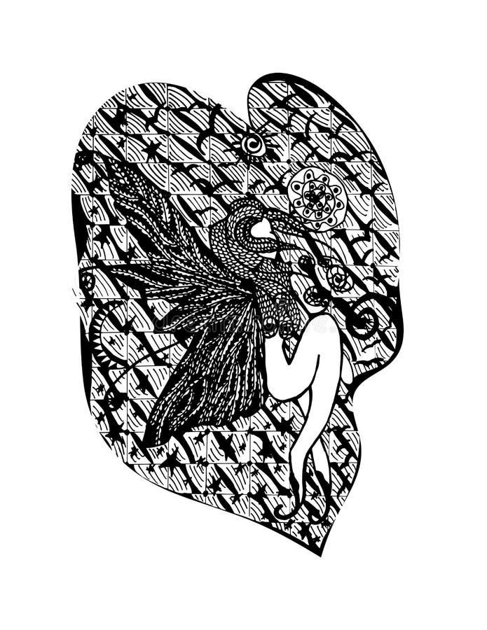 абстрактная девушка стоковые изображения rf