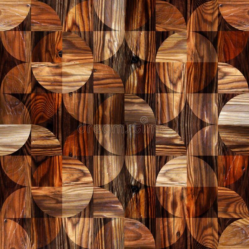 Абстрактная декоративная текстура - безшовная предпосылка - Пэт paneling бесплатная иллюстрация
