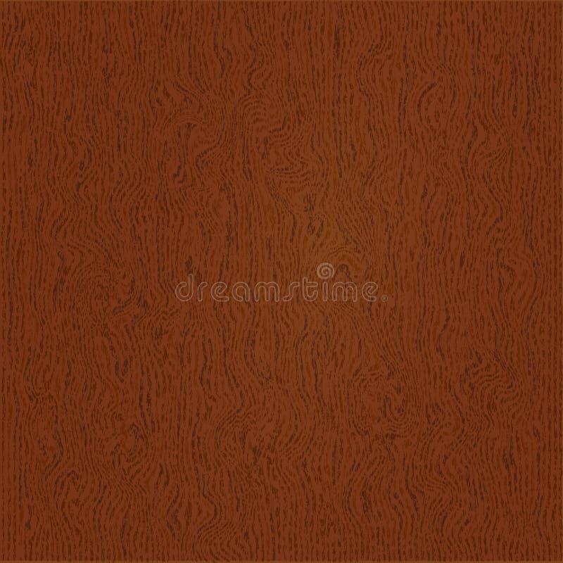 Абстрактная деревянная текстурированная поверхность Чертеж картины вектора Естественная деревянная текстура, реалистическая дерев бесплатная иллюстрация