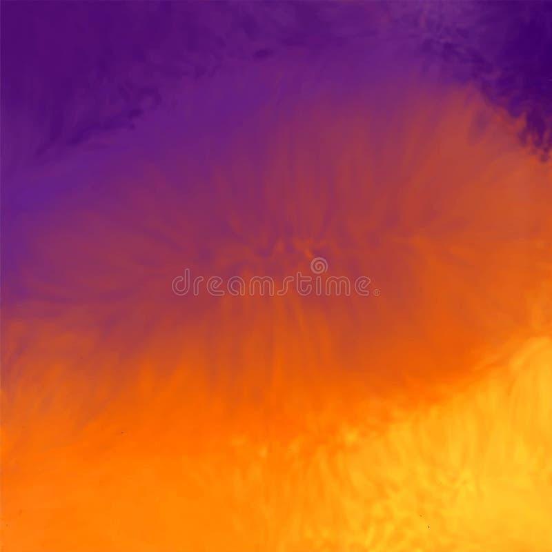 Абстрактная живая текстура предпосылки акварели иллюстрация штока