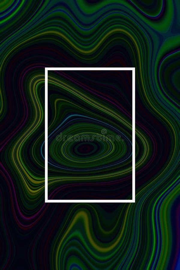 Абстрактная жидкость и дизайн предпосылки для графика плаката, мраморизованной древесины иллюстрация штока