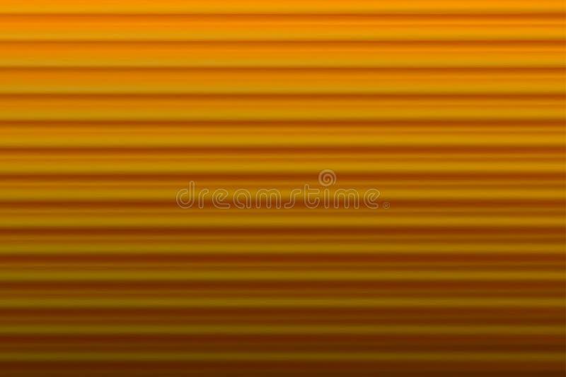 Абстрактная запачканная предпосылка Линии и кривые золота r иллюстрация вектора