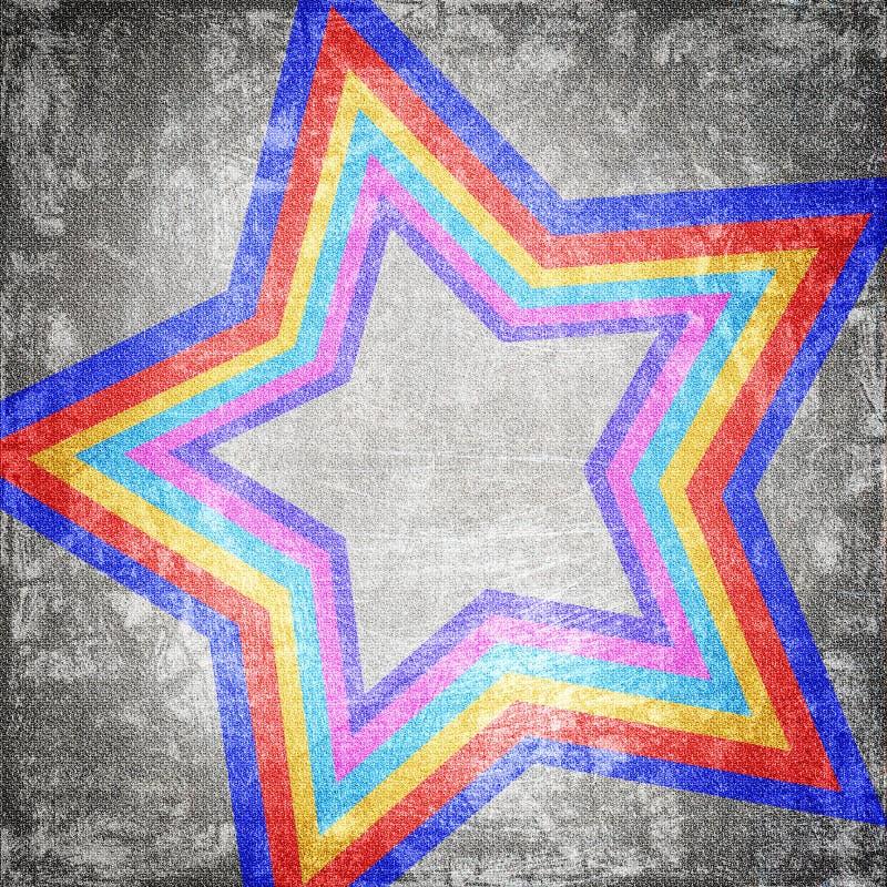 Абстрактная звезда бесплатная иллюстрация