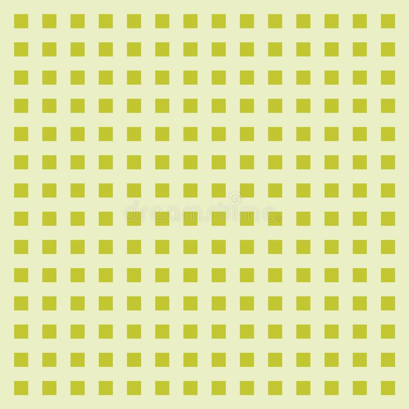 Абстрактная зеленая предпосылка картины куба Рамка, иллюстрация векторной графики иллюстрация вектора