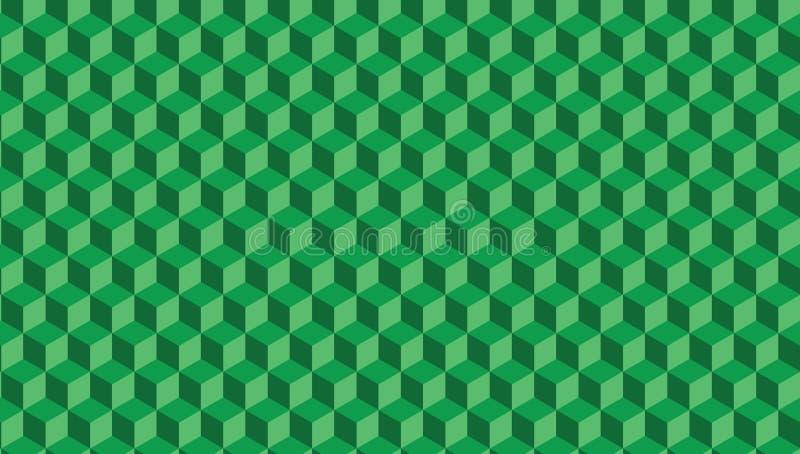 абстрактная зеленая текстура Предпосылка 3d вектора бумажный стиль искусства можно использовать в дизайне крышки, дизайне книги,  иллюстрация вектора