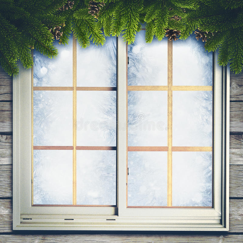 абстрактная зима предпосылок бесплатная иллюстрация