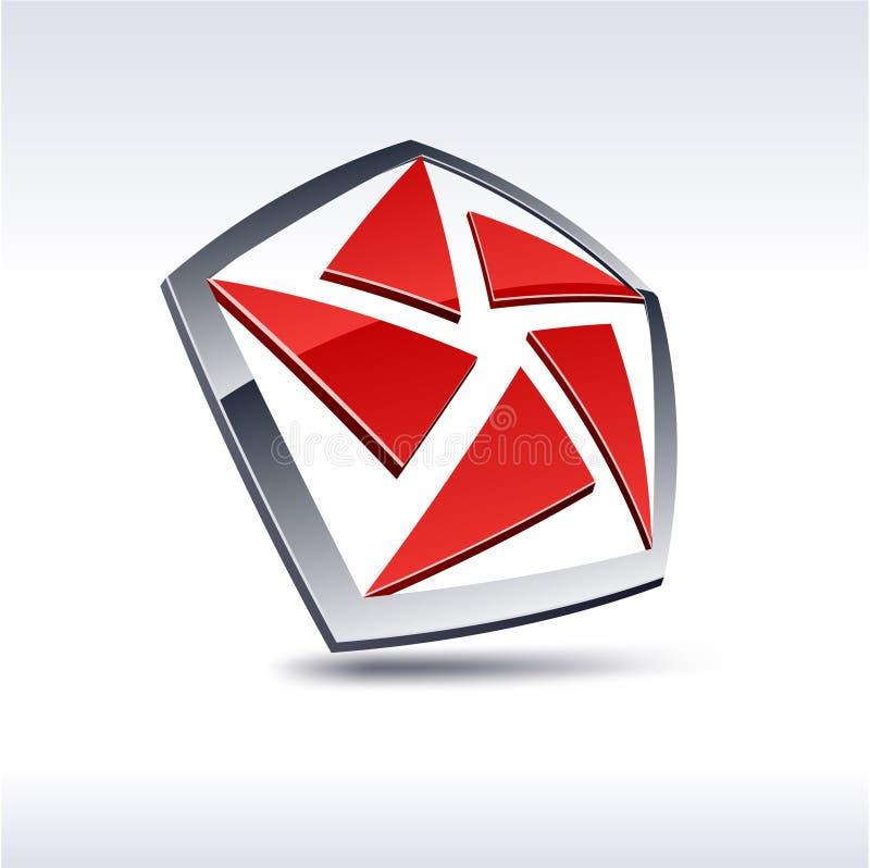 абстрактная икона 3d бесплатная иллюстрация