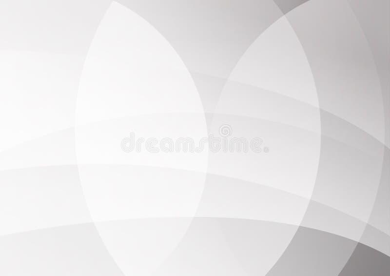 Абстрактная иллюстрация вектора дизайна предпосылки белой и серой технологии цвета современная бесплатная иллюстрация