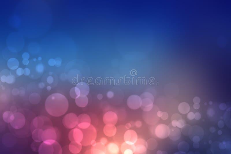 Абстрактная иллюстрация заката Абстрактный вечер или закатная фоновая текстура с оранжево-пурпурным цветным фонариком освещенных  иллюстрация штока