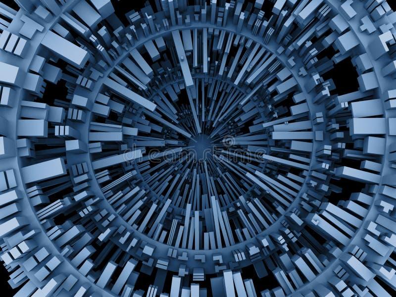 абстрактная иллюстрация 3d бесплатная иллюстрация
