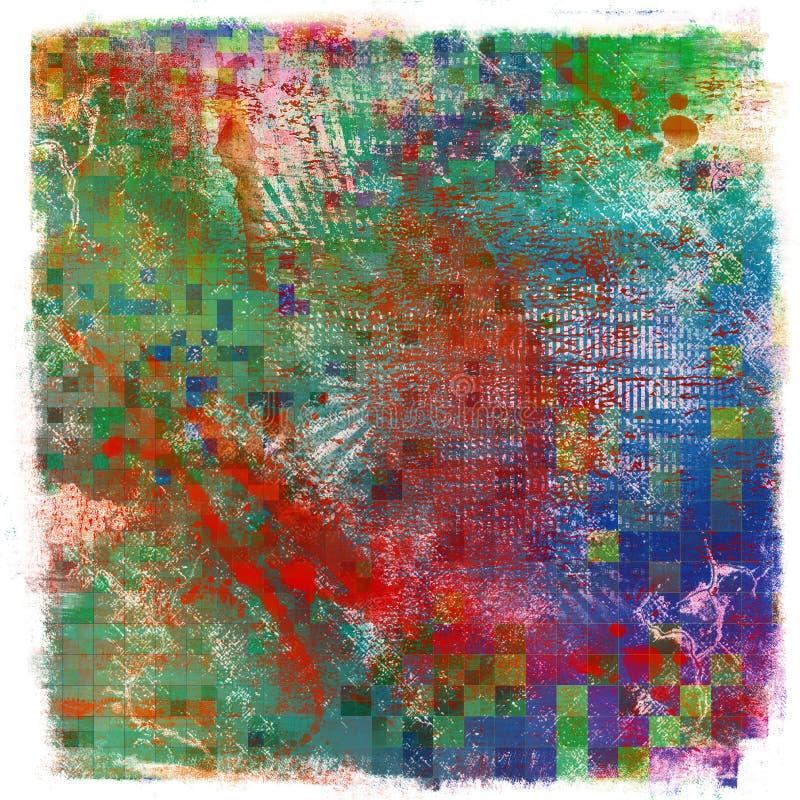 Абстрактная иллюстрация grunge бесплатная иллюстрация