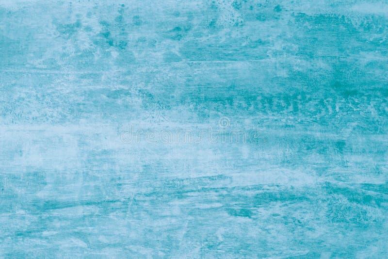 Абстрактная картина акварели с зелеными пятнами краски Текстура бирюзы, цвет aqua, светлая предпосылка Мягкий aquarelle, акварель стоковое изображение rf