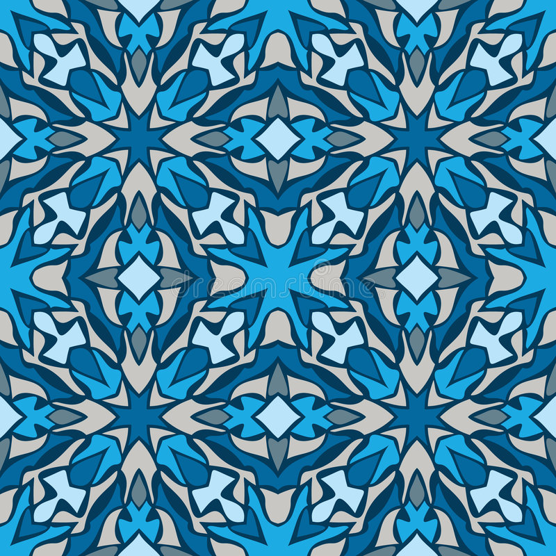 Download абстрактная картина безшовная Иллюстрация вектора - иллюстрации насчитывающей конструкция, орнамент: 6852374