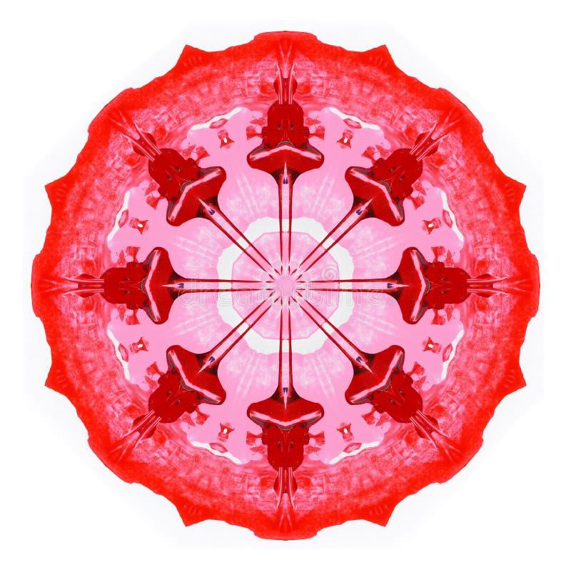Абстрактная картина круга Иллюстрация растра иллюстрация вектора