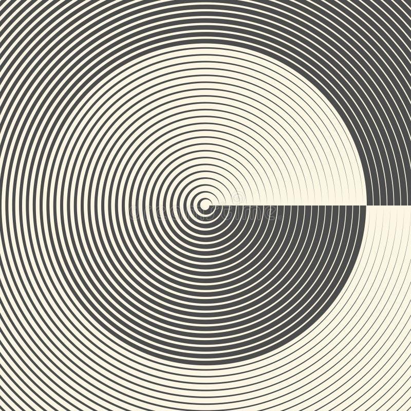 абстрактная картина круга Предпосылка экрана радара бесплатная иллюстрация