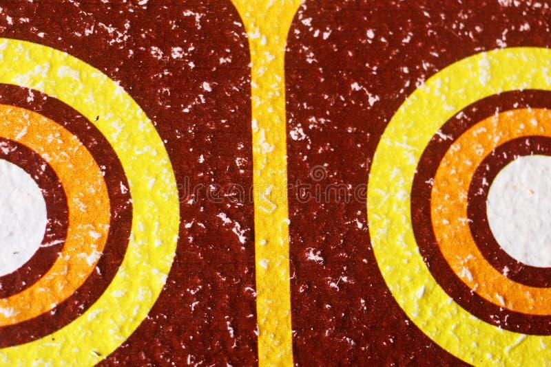 Абстрактная картина круга стоковое изображение
