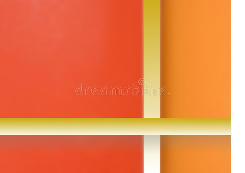 абстрактная картина подарка коробки иллюстрация вектора