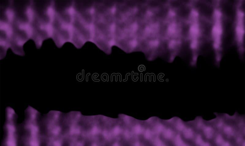 абстрактная картина предпосылки нерезкости Bokeh в фиолетовом цвете Фон Wallpapper иллюстрация вектора