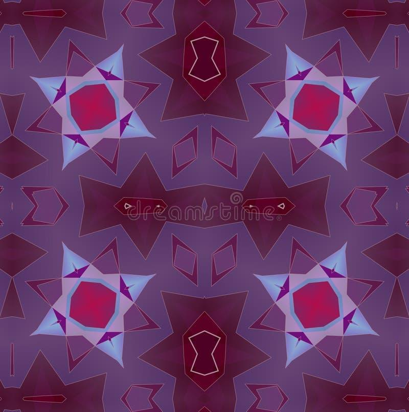 Абстрактная картина предпосылки, калейдоскоп иллюстрация вектора