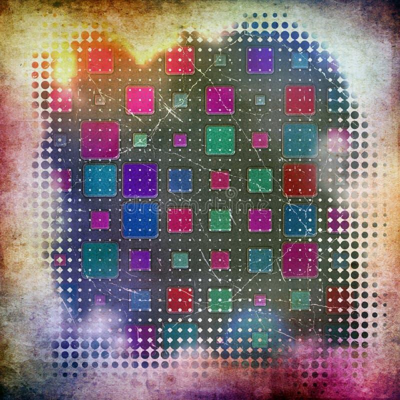 Абстрактная картина предпосылки grunge для вашего текста иллюстрация штока