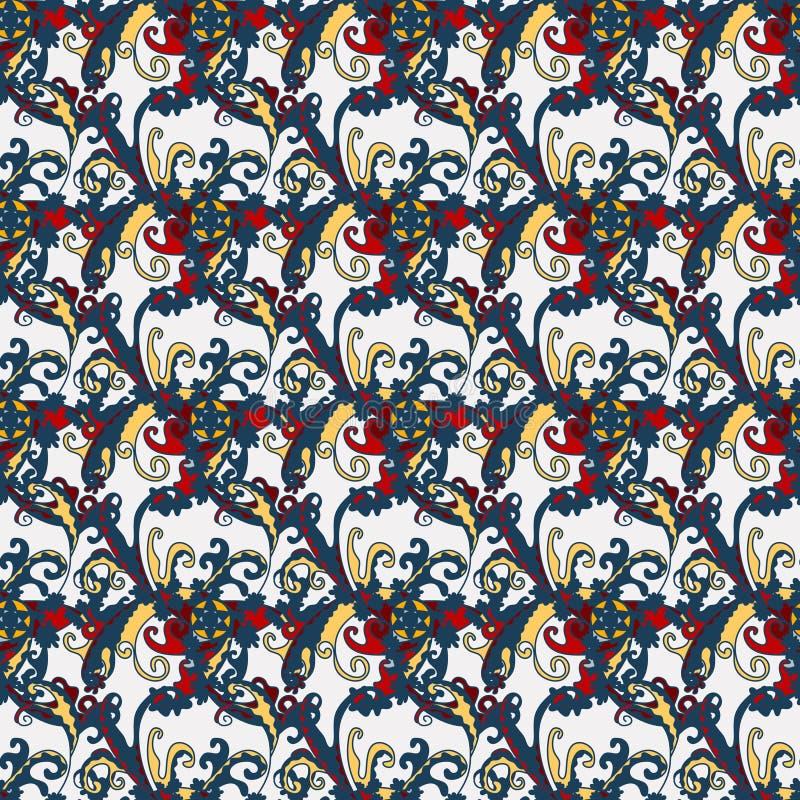 Абстрактная картина цвета для вашего дизайна иллюстрация штока