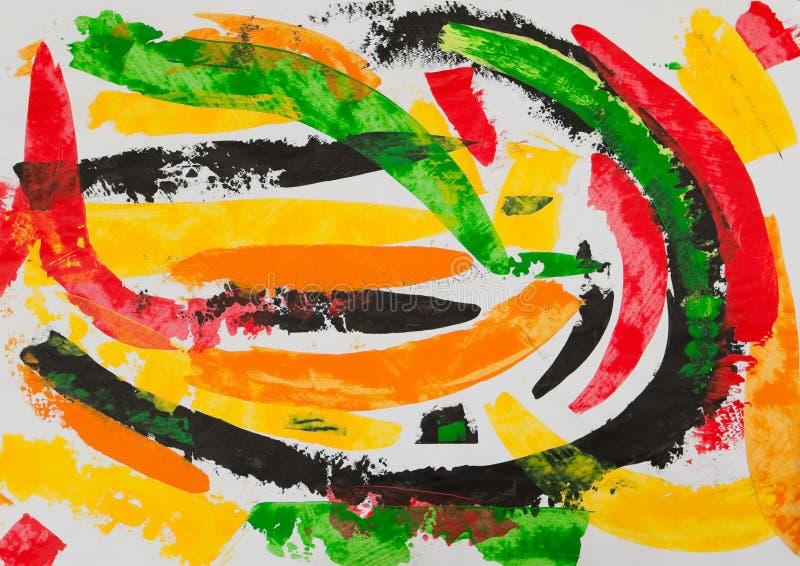 Download абстрактная картина иллюстрация штока. иллюстрации насчитывающей yellow - 18395746