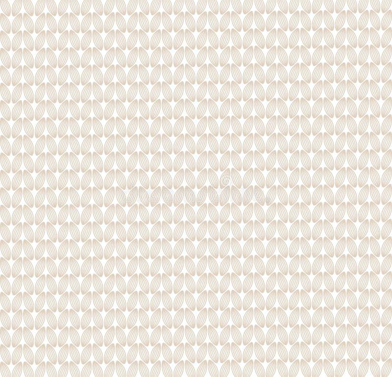 Абстрактная картина knit иллюстрация вектора