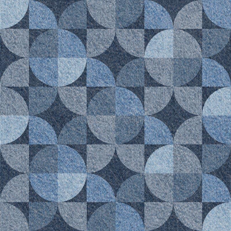 Абстрактная картина paneling - безшовная картина, голубые джинсы отделывает поверхность бесплатная иллюстрация