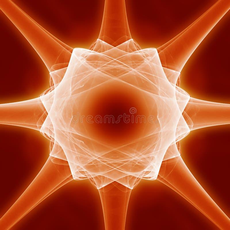 абстрактная клетка иллюстрация штока