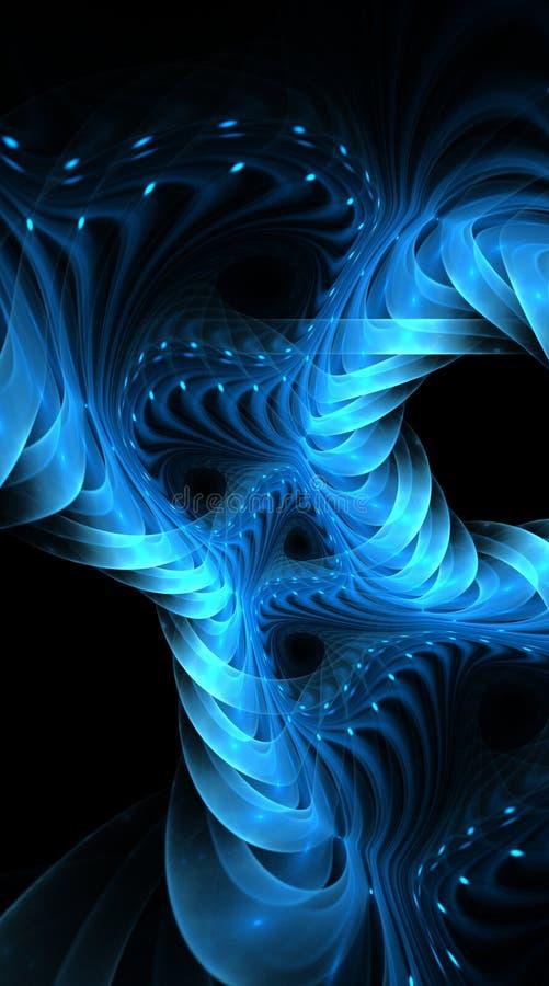 абстрактная конструкция предпосылки шикарная иллюстрация вектора