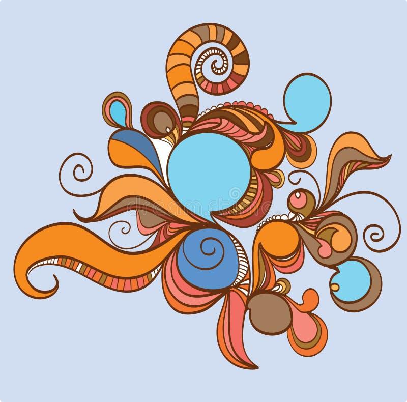 Download абстрактная конструкция ретро Иллюстрация штока - иллюстрации: 12548079