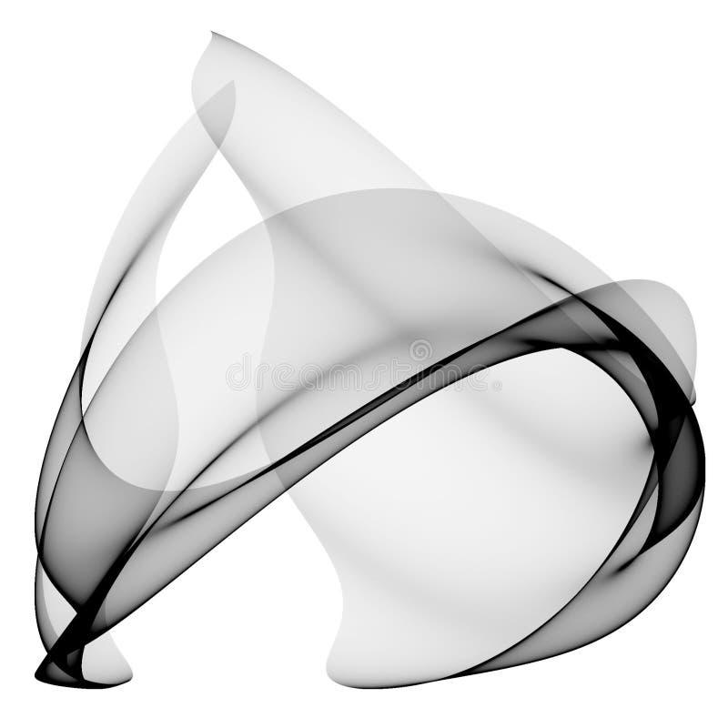 абстрактная конструкция самомоднейшая иллюстрация вектора