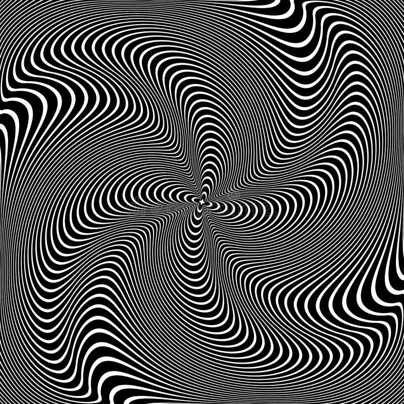 среди гипнотизирующие картинки двигаются бленды