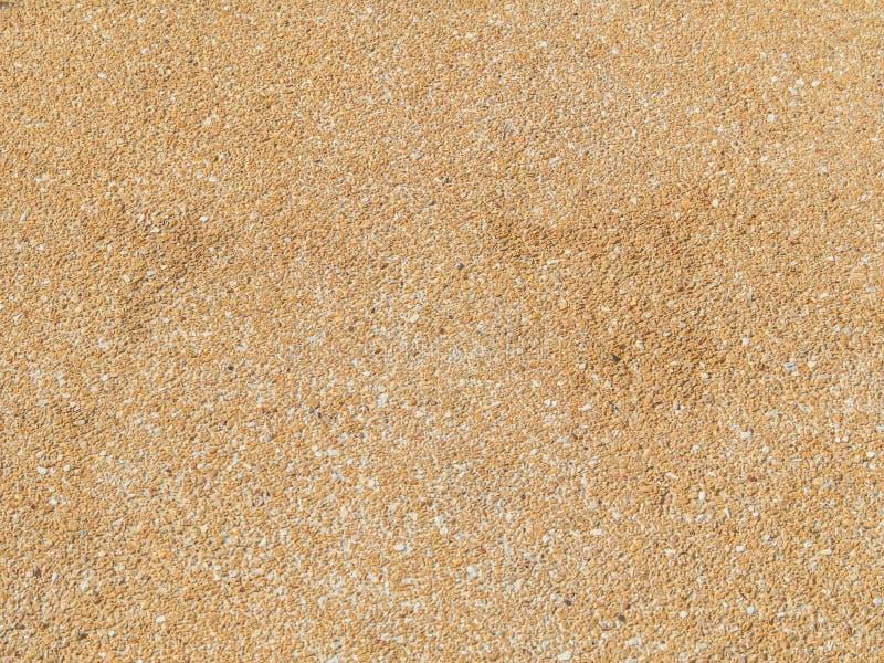 Абстрактная коричневая текстура пола гравия и цемента стоковая фотография