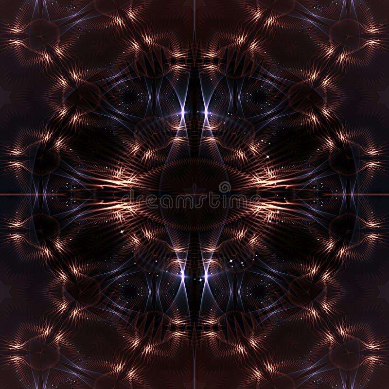 Абстрактная космическая предпосылка. стоковое изображение rf