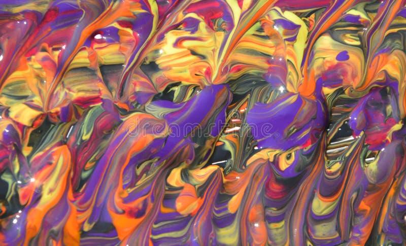абстрактная краска влажная стоковые фото