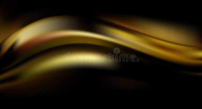 Абстрактная красочная волшебная предпосылка рождества Золотые вспышки, sparkles и bokeh бесплатная иллюстрация