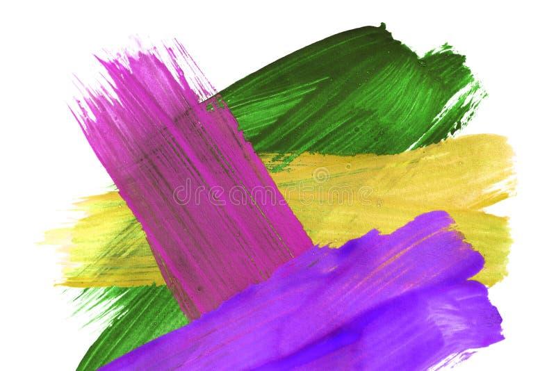 Абстрактная красочная картина стоковые изображения