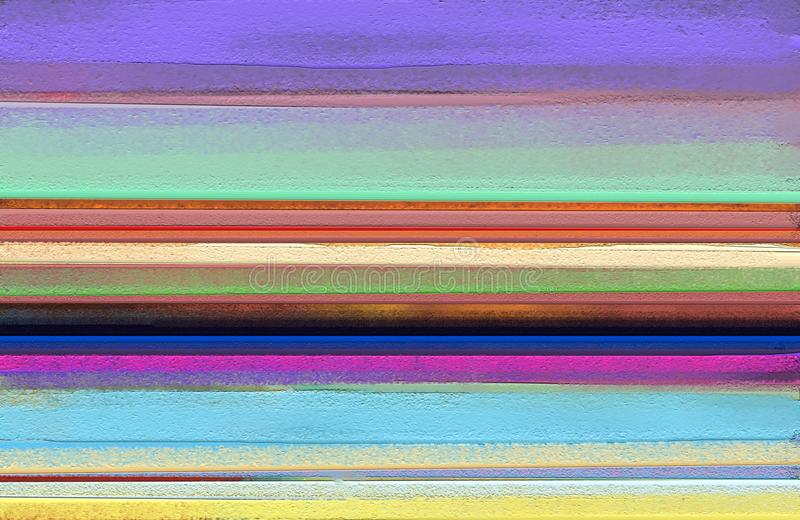 Абстрактная красочная картина маслом на текстуре холста Абстрактное современное искусство для предпосылки стоковое изображение